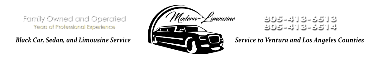 Modern-Limousine and Shuttle Service, Simi Valley